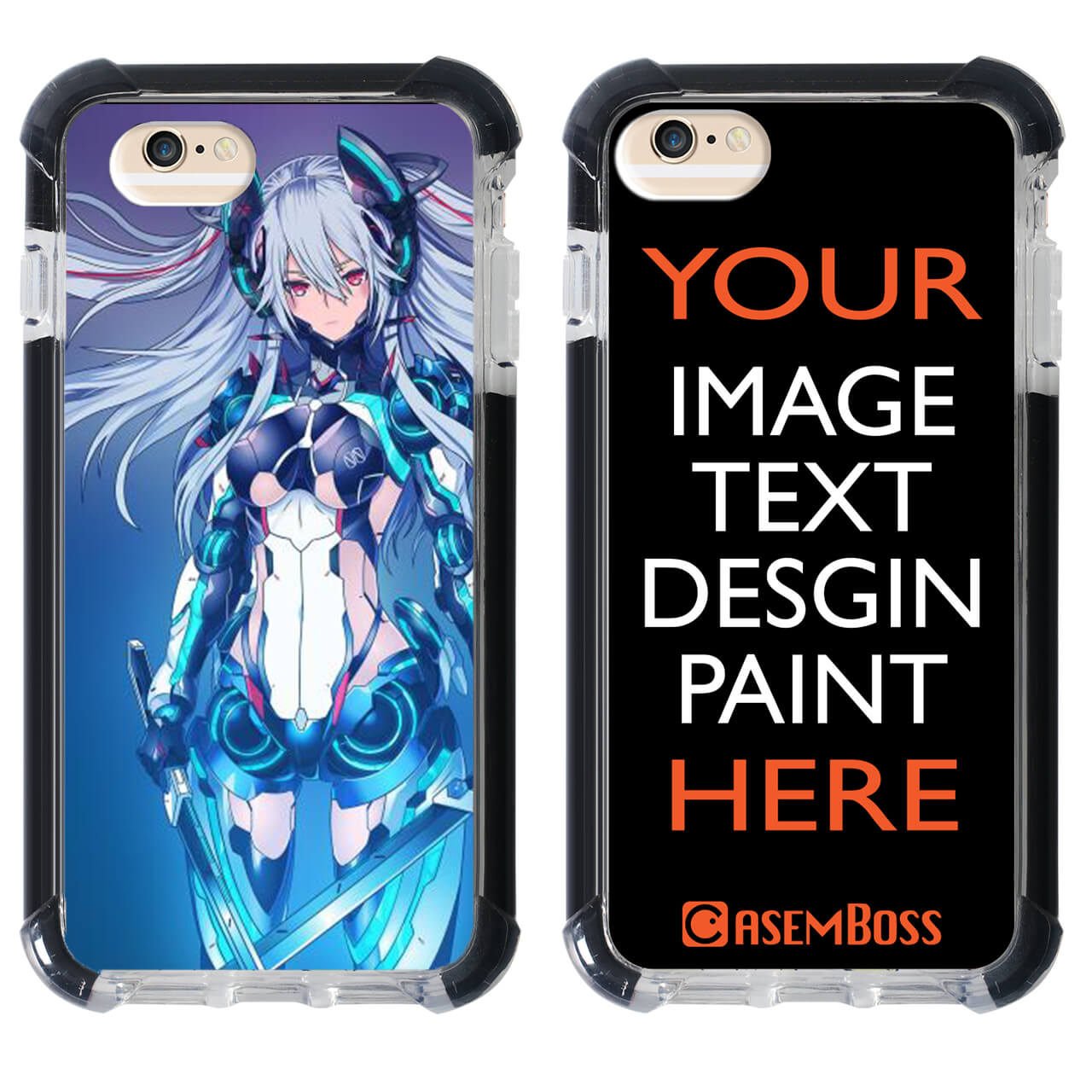 Custom iPhone 6 Plus Ultra Impact Case
